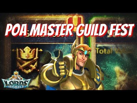 POA Master Guild Fest Rewards! - Lords Mobile