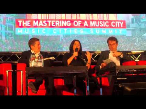 Music Cities Summit 2017: The Music Cities Leader's Panel