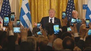 Full Speech: President Trump Hosts a Greek Independence Day Celebration 3/24/17