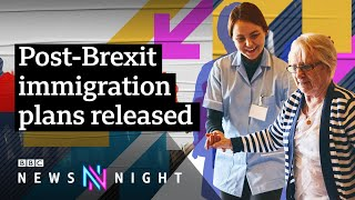 How could a UK points-based immigration system work? - BBC Newsnight