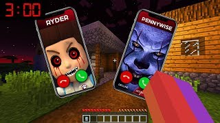 Minecraft : WHO CALLED ME AT 3AM????(Ps3/Xbox360/PS4/XboxOne/PE/MCPE)