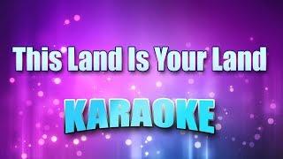 Standard - This Land Is Your Land (Karaoke & Lyrics)