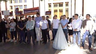 ՀՀԿ և «Հայրենիք» կուսակցությունների երիտասարդները նամակներ են հանձնում դեսպանատներին. ուղիղ