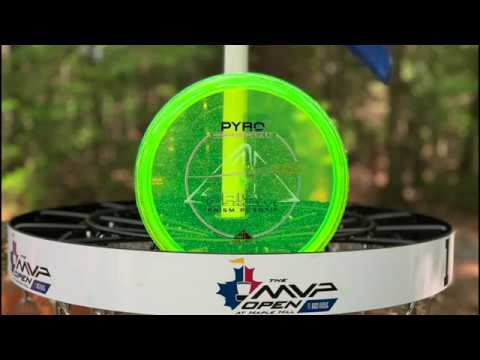 Axiom Prism Pyro Review Video at Maple Hill Disc Golf Course