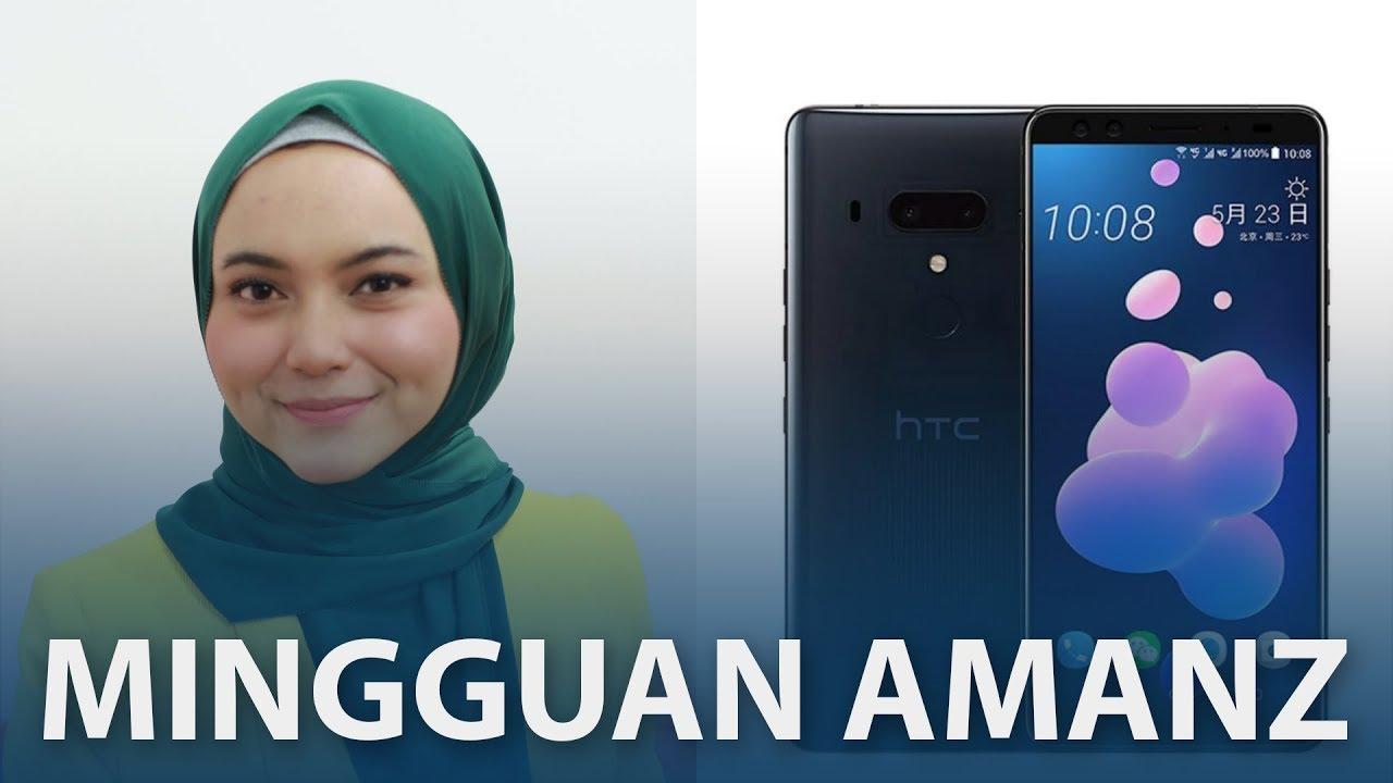 Mingguan Amanz - HTC U12+, Oppo R15 Pro, Acer Predator Helios 500