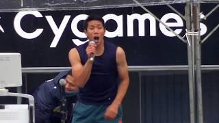 三丸拡 選手がノースリーブでカラオケを披露、『TRAIN-TRAIN』(THE BLU...