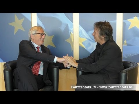Jean-Claude Juncker - Interview by Alexander Louvet - Powershoots TV   HD Version