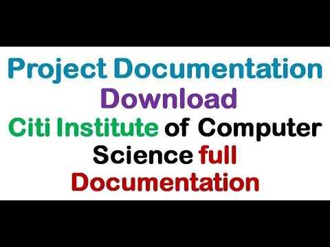 Citi Institute of Computer Science full Documentation(Free Download in  doc)