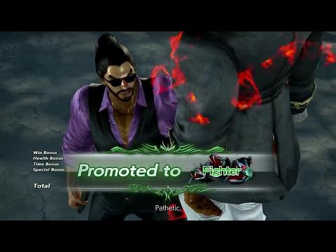 TEKKEN 7 - Kazuya Online Ranked Matches #3 - Beard & G-Corp Suit Destruction (1080p 60fps) PS4 Pro