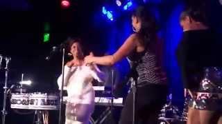 """Sheila E., Zina Escovedo & Mom E. """"Mona Lisa"""" LIVE Conga Room"""