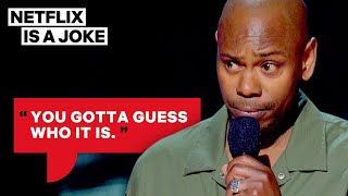 dave chappelle s impressions are insanely accurate netflix is a joke