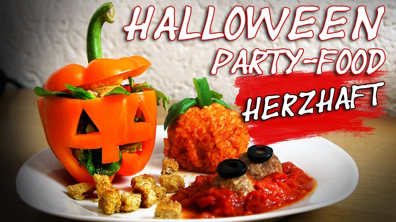 halloween party food herzhaft collchen14 youtube. Black Bedroom Furniture Sets. Home Design Ideas