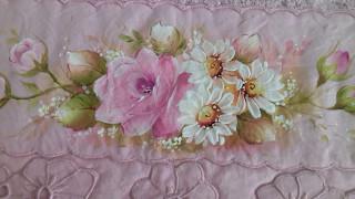 Pintura em Tecido – Aprenda Pintar Margarida
