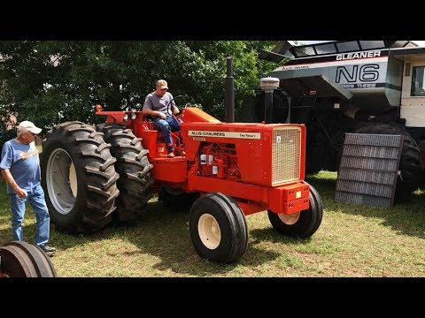 Restored 1972 Allis Chalmers 220 2WD Tractor Sold Today on Hastings, MN Farm Auction