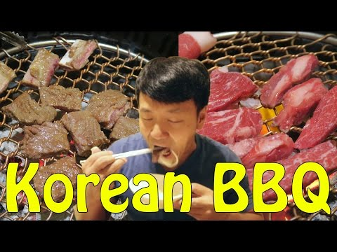 AUTHENTIC Korean BBQ in Seoul South Korea