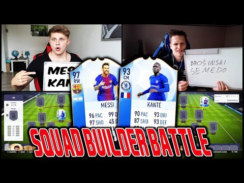 Champions League MESSI vs. TOTY KANTE Squad Builder Battle vs. Esportler! 🔥🔥 Fifa 18 Ultimate Team