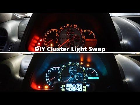 DIY Is300 Cluster Light Swap