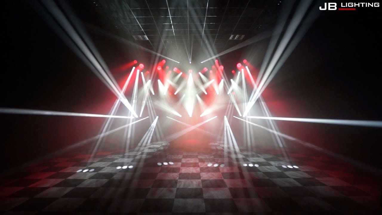 Jb Lighting A8 Dmx Jb Lighting Showroom Lightshow 2016