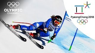 Sofia Goggia's Alpine Skiing Highlights | PyeongChang 2018