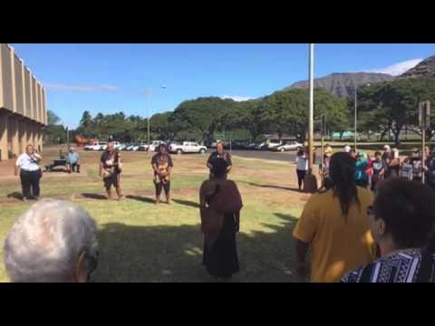 'Aha Aloha 'Āina ma Wai'anae Opening Pule