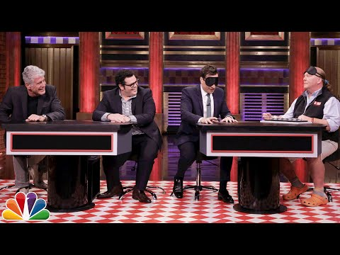 Thumbnail: Food Pyramid with Anthony Bourdain, Mario Batali and Josh Gad