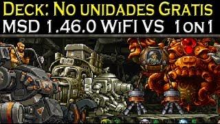 Metal Slug Defense Wi-Fi VS 1on1 #36 Deck: No Unidades Gratis.