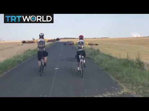 Hajj Bikers: British men cycle from London to Saudi Arabia