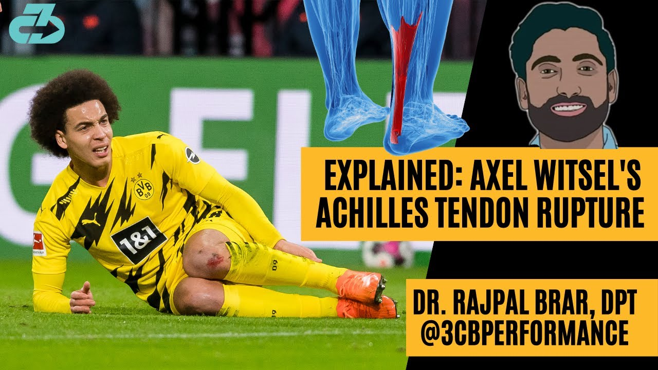 Axel Witsel Achilles Rupture & Timeline: Can He Ever Be The Same? - YouTube