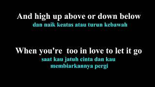 Coldplay - Fix you lirik dan arti bahasa indonesia