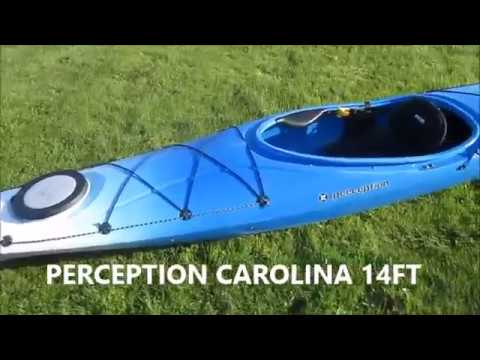 PERCEPTION CAROLINA 14 FT KAYAK REVIEW