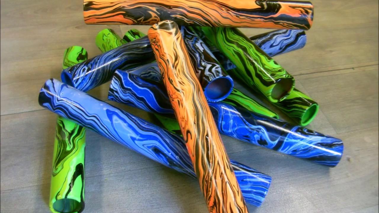 Custom relay batons