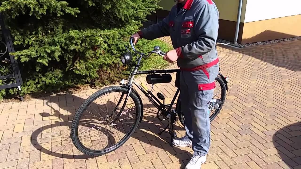 oldtimer fahrrad ddr mit maw motor evt brennabor oder. Black Bedroom Furniture Sets. Home Design Ideas