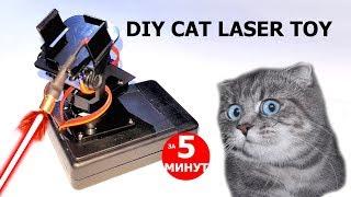 DIY Лазерная игрушка для кота | Cat Laser Toy