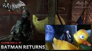 Batman: Arkham City - Easter Egg #27 - Batman Returns