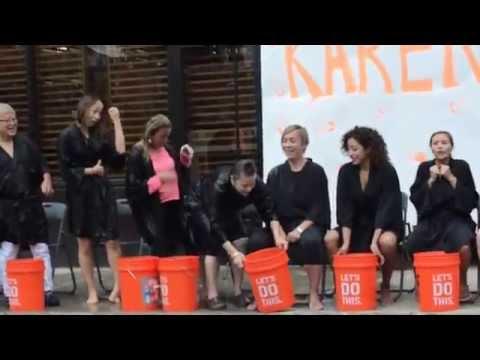 Hopscotch Ice Bucket Challenge