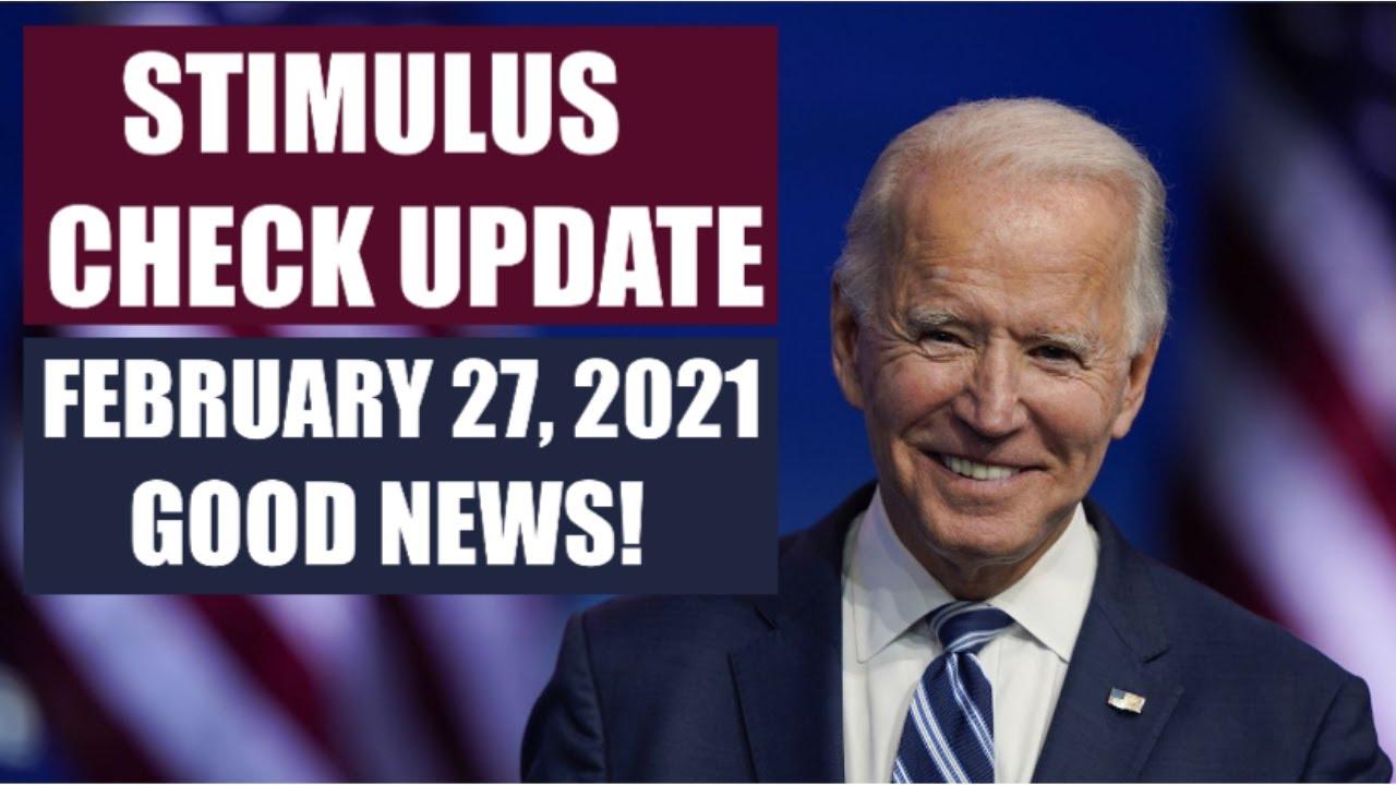Download $1400 THIRD STIMULUS CHECK UPDATE   FEBRUARY 27 UPDATE FOR 3RD STIMULUS CHECK (STIMULUS PACKAGE)
