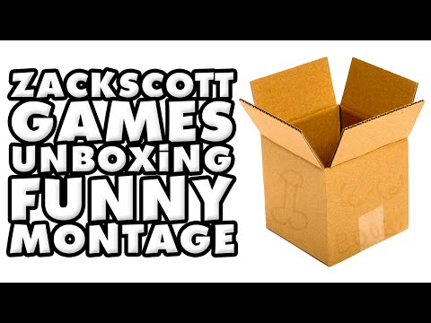 ZackScottGames Unboxing Funny Montage