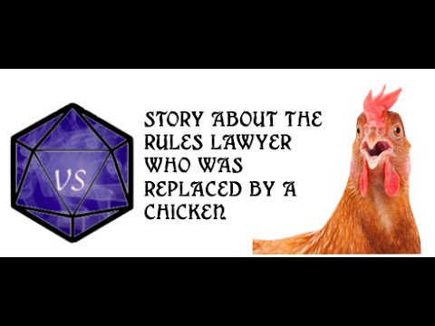 Role Playing story : The Chicken who replaced the multi-classed Thief
