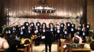 Los campanilleros, Coral Santiago Apostol en Delicias 21dic14