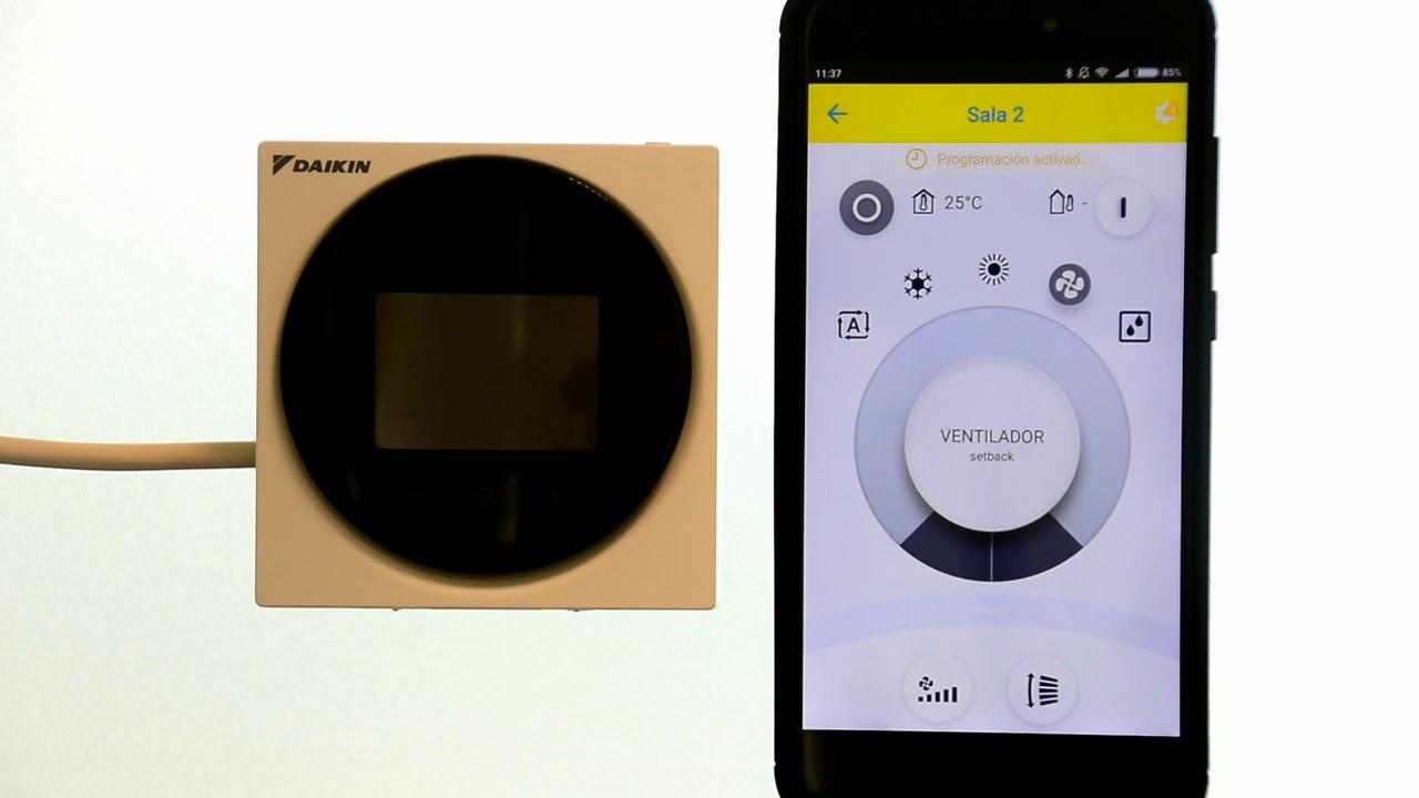 Daikin BRC1H519 modo instalador desde Madoka Assistant
