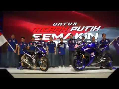 Launching Tim Yamaha Racing Indonesia 2018 Dihadiri Valentino Rossi & Maverick Vinalles
