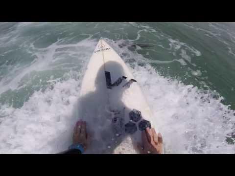 Surfing Morro Bay 7/8/17 (Raw Cut)
