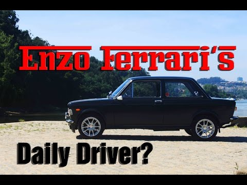 FIAT 128 Review & Roadtest - Enzo Ferrari