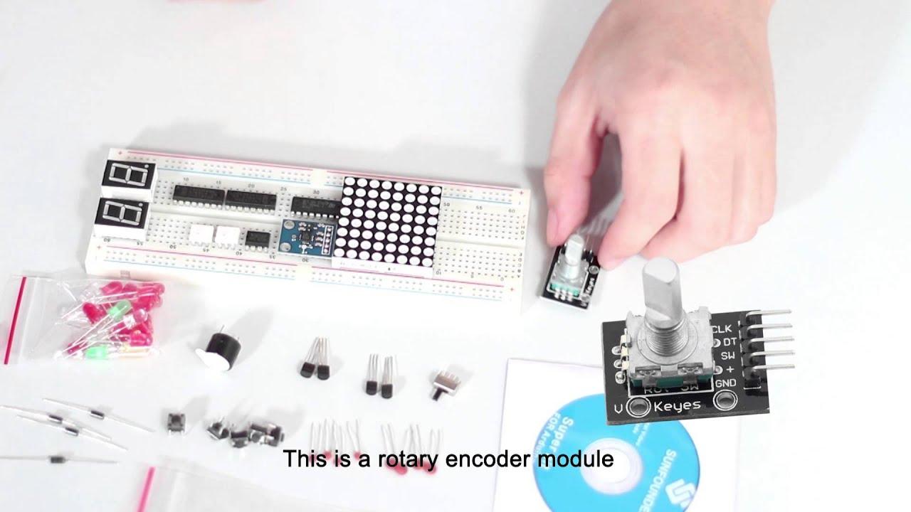 Sunfounder starter super kit turorial for arduino com