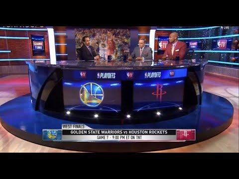 Warriors vs Rockets Game 7 Look Ahead | NBA GameTime | May 27, 2018