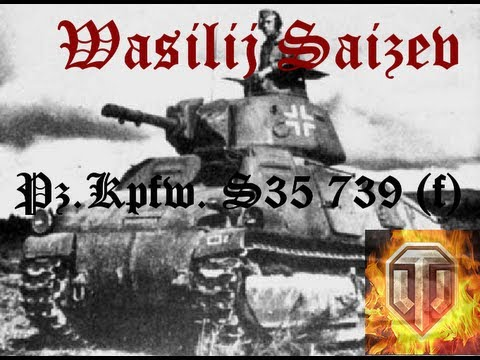 World Of Tanks - PzKpfw S35 739 (f) - Somua Der Deutsche