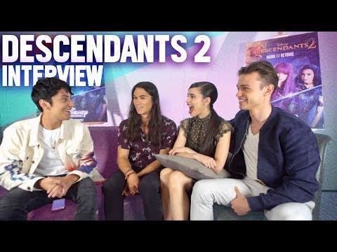 DESCENDANTS 2 INTERVIEW (Sofia Carson, Thomas Doherty & Booboo Stewart)  [FR/ENG]