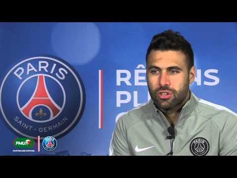 PARIS/OM - INTERVIEW EXCLUSIVE DE SALVATORE SIRIGU POUR LA NEWSLETTER PMU SPORT