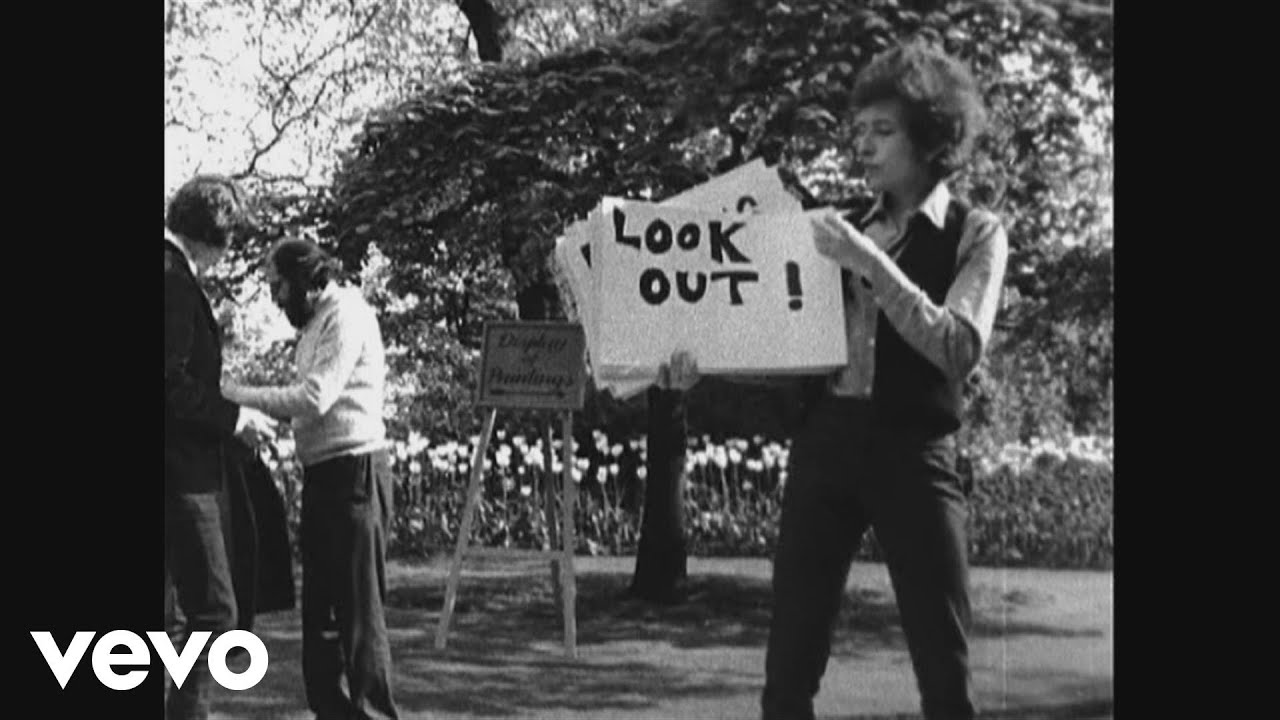 Bob Dylan Subterranean Homesick Blues The Times They Are A changin