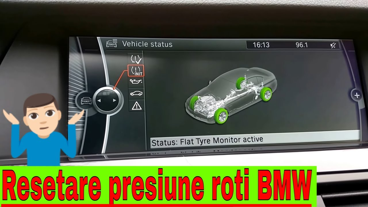 BMW 5 Series: Resetting the system